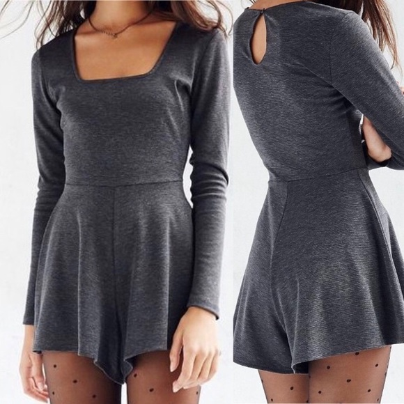 Urban Outfitters Pants - Kimchi blue Urban Outfitters long sleeve Romper